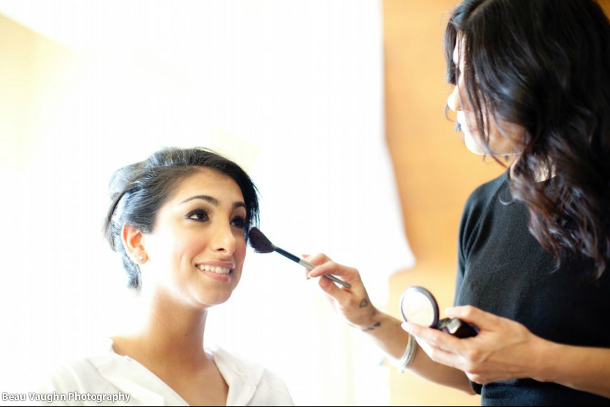 Wedding Makeup Artist Houston - Bride, Roxana