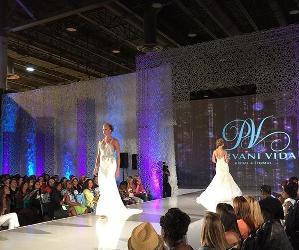 Model Stacy on the Catwalk for David Tutera's Your Wedding Experience