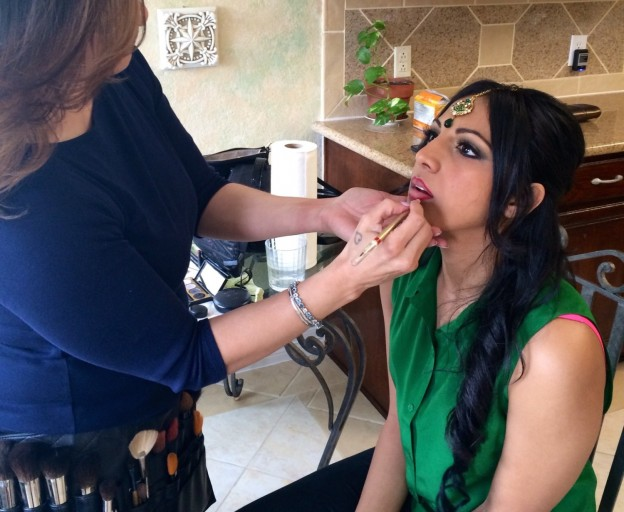 Lisa Capuchino - Indian Bridal Makeup for Sadie Qazi and Family