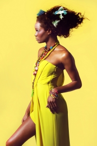 Editorial Shoot with Model Cora Uwajeh