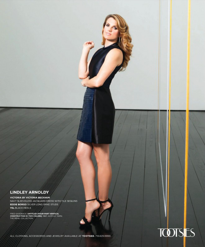 Lindley Arnoldy in Modern Luxury Magazine - Makeup by Lisa Capuchino
