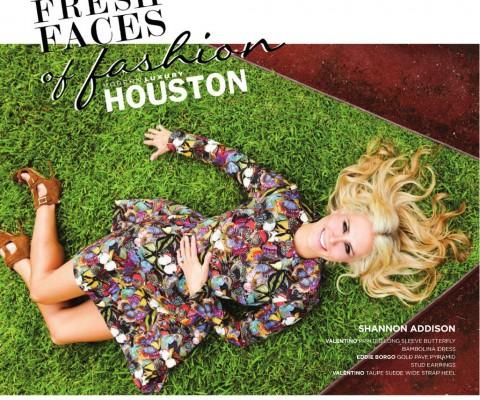 Fresh Faces of Fashion for MODERN LUXURY Magazine