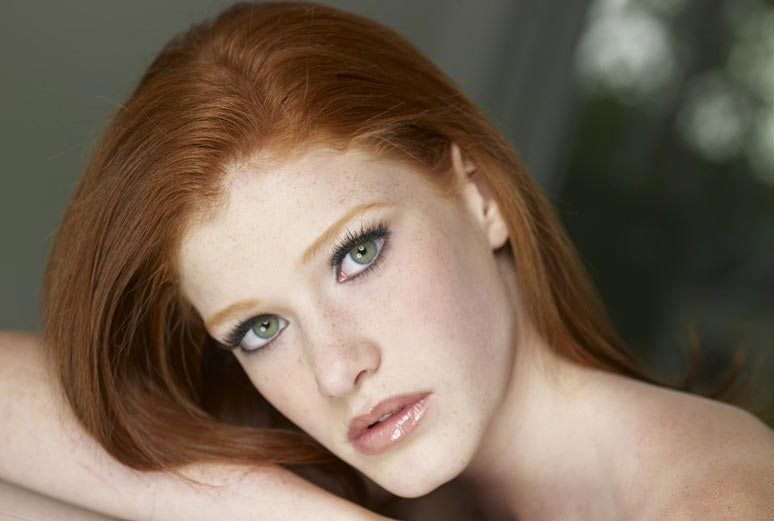 alicia palmer ginger redhead makeup houston
