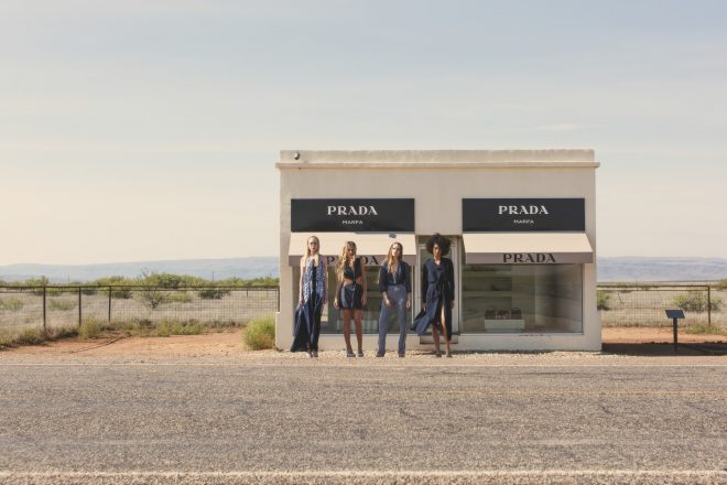 Cureology Beauty Campaign in Marfa Texas