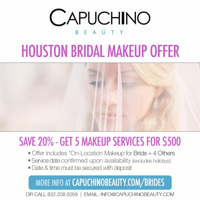 Capuchino Bridal Beauty Offer