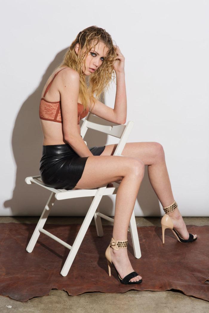 model-wearing-body-conscious-skirt-700x1050 Makeup Artist Portfolio