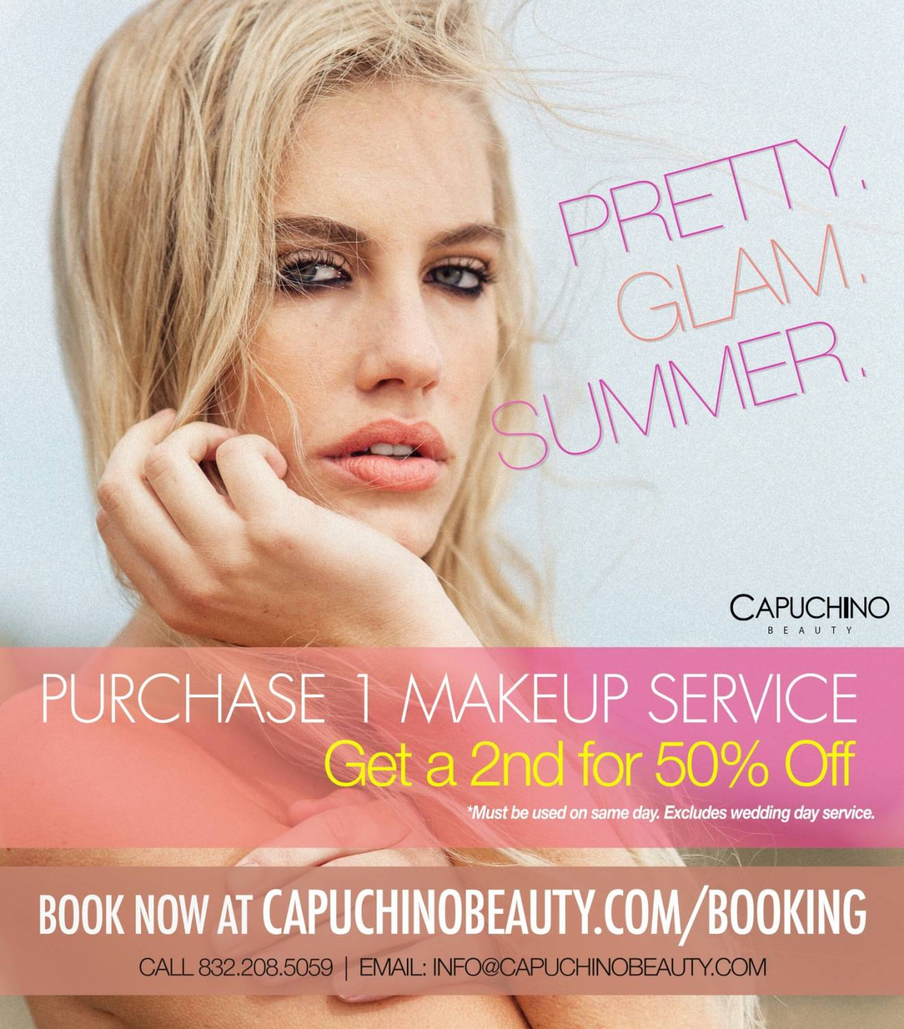 summer-makeup-artist-deal-offer-houston-texas-capuchino-beauty Offers