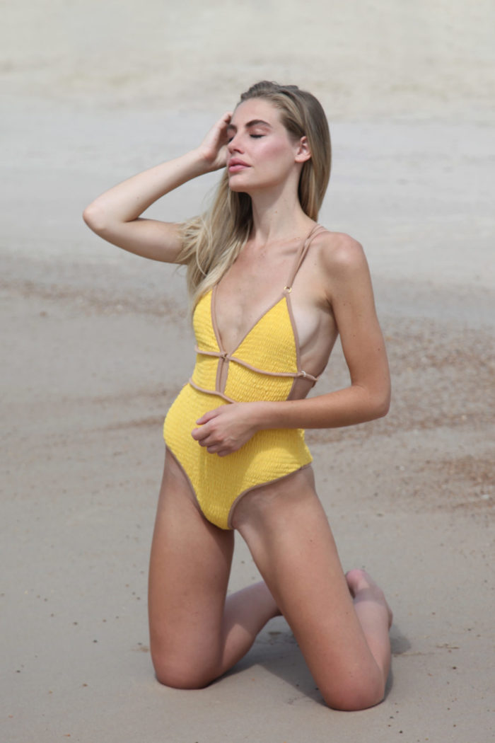 blonde-model-wearing-yellow-swimwear-5-700x1050 Makeup Artist Portfolio